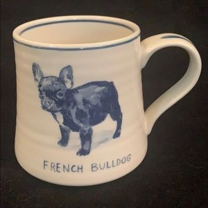 French Bulldog Mug From Anthropologie